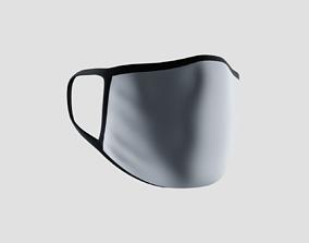 Customizable Face Mask 3D asset