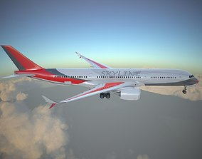 3D model Generic Jet Airliner