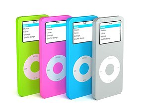 Slim Mp3 Player 3D