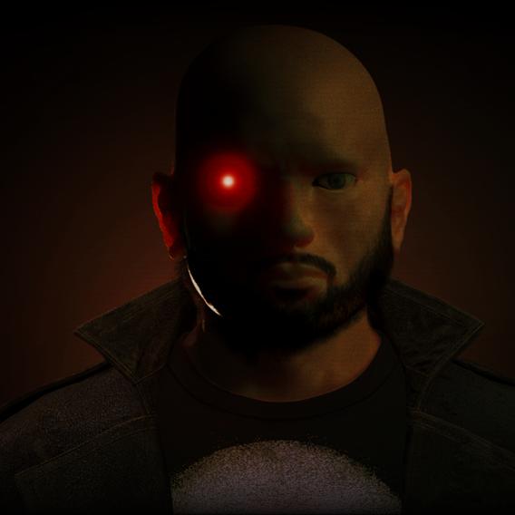 Bald Punisher!