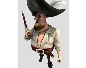 3D model Pirate Flint