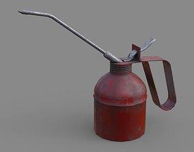 3D asset Oil Can 2