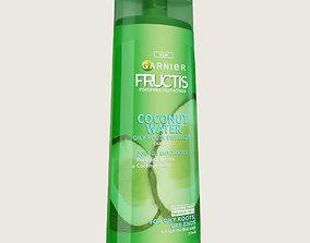 3D model Garnier Shampoo Bottle