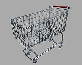 3D asset Shopping Cart PBR