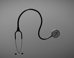 Stethoscope 3D model realtime