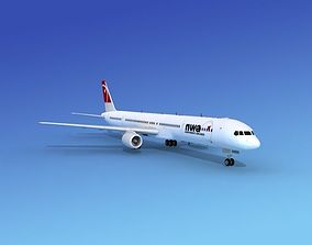Boeing 757-300 Northwest Airlines 2 3D model