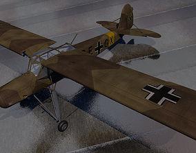3D model Fieseler Fi-156C-3 Storch