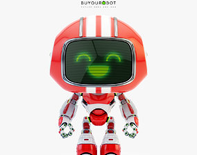 3D model Lovely robot - friendly toy companion II