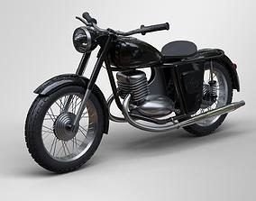 3D model Motorcycle IZH 56