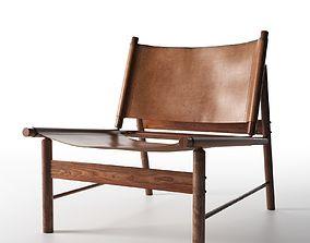 Lounge Chair by Jorge Zalszupin lounge 3D model