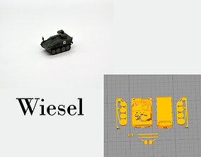 The Wiesel military tracked vehicle of the German 3D