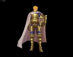 3D model General and king