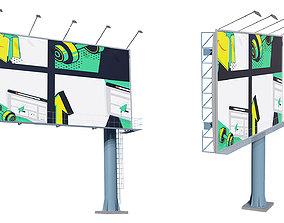 highway Billboard 3D model