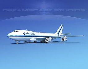 Boeing 747-100 Eastern Airlines 1 3D model