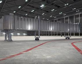 Airport Passenger Ingress Tunnel 3D model