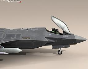 3D model F35A - Royal Netherlands air force