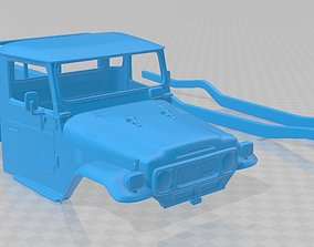 Toyota Land Cruiser Pickup 1979 Printable Body Car