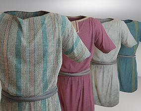 Roman guard man tunic 3D asset
