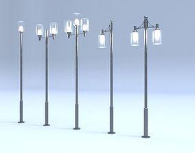3D model Decorative Street light6