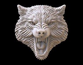 Wolf evil pendant 3D print model