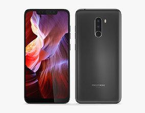 3D Xiaomi Pocophone F1 Black