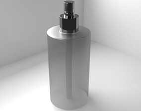Spray Bottle 1 - Body Mist Bottle 3D model