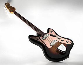 3D 1960 Welson Jazz Vedette Bass Guitar