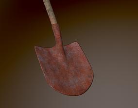 Shovel 3D model realtime dirty