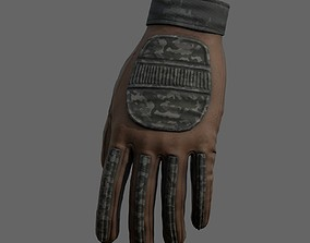3D model Gloves military Scifi Generic sport scifi human 1
