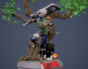 3D printable model KAKASHI Y DOG