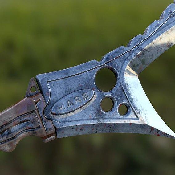 Damask knife