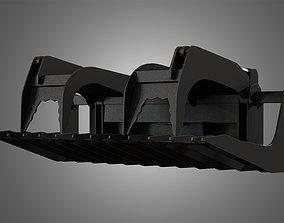 Log Fork - Spare Part for JCB Skid Steer Loader 3D model