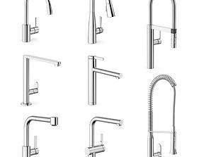3D model Modern taps