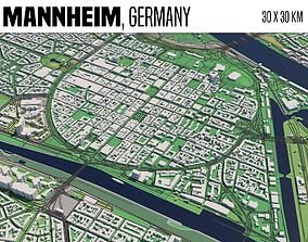 3D model Mannheim
