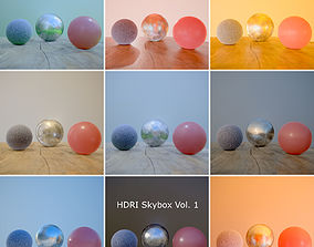 HDRi Vol 1 Skybox Collection 3D asset