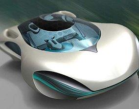 Taihoo 2016 concept car 3D model