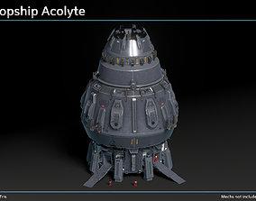 3D model Scifi Dropship Acolyte