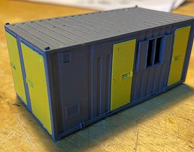 Model Railway Portable Office Accommodation