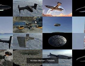 Kit Alien Martian 3D model
