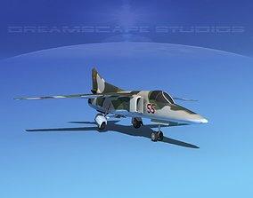 Mig-27 Flogger LP Russia 3D model rigged