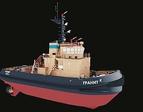 Tugboat Granite 3D model