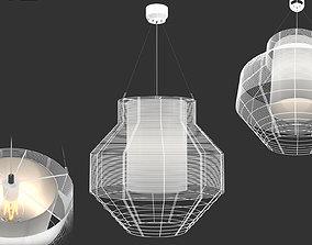 3D model Suspension MESH M BLANC