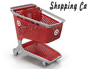 pushcart Shopping Cart 3D