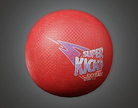 3D asset Gym Ball 01a - SAG - PBR Game Ready