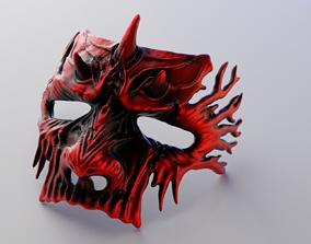 3D print model Dark Fantasy Demon Mask