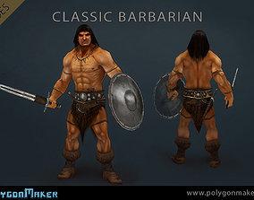 3D model Heroes - Classic Barbarian