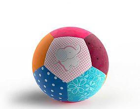 Patchwork Ball 3D model