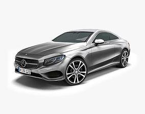 Mercedes-Benz S-Class Coupe 2015 3D asset