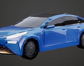 3D asset Toyota Mirai Car