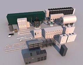 3D Industrial Equipment